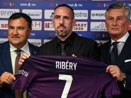 Franck Ribéry heureux et fier après ses débuts. Goal
