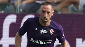 L'esterno francese della Viola Franck Ribery.