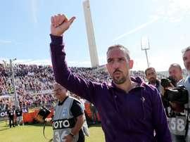 Déclaration de Ribery .AFP