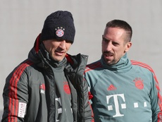 Franck Ribéry a repris l'entraînement avec le Bayern Munich. Goal