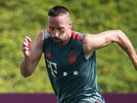 Ribery returns to training after hamstring injury earlier this month. GOAL