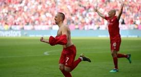 Franck Ribery and Arjen Robben were both on the scoresheet for Bayern. GOAL