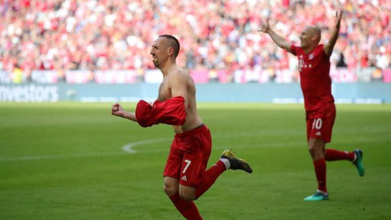 Franck Ribery and Arjen Robben were both on the scoresheet for Bayern. GOAL