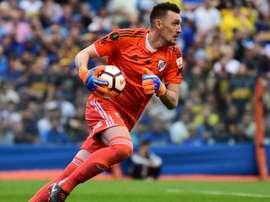 River Plate's goalkeeper Franco Armani. GOAL
