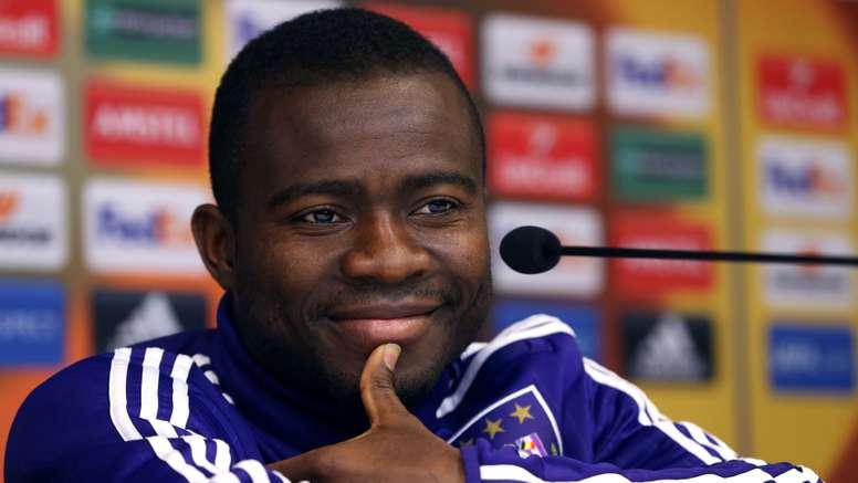 Frank Acheampong of Anderlecht. Goal