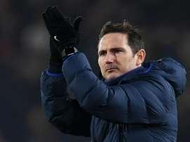 Lampard satisfait de la prestation de Giroud. AFP