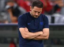Lampard s'exprime après la défaite face à Liverpool. EFE