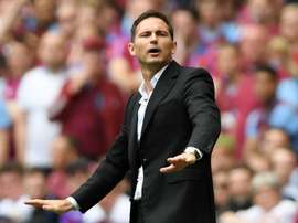 Frank Lampard is in pole position to land the Chelsea job. GOAL