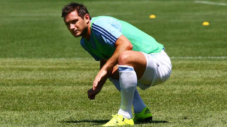 Frank Lampard in training with former club New York City. Goal
