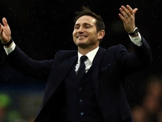 Lampard won every domestic trophy possible with Chelsea. GOAL