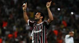 Torcida do Fluminense se anima com Fred. Goal
