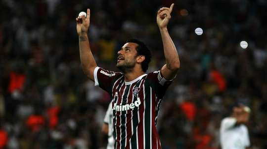 Torcida do Fluminense se anima com Fred. Goal