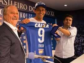 Fred é apresentado no Cruzeiro. Goal