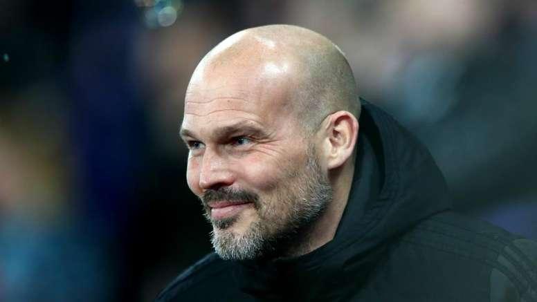 Ljungberg is interim boss. GOAL
