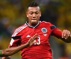 Shanghai Shenhua are hoping to tie down Freddy Guarin and Giovanni Moreno. GOAL