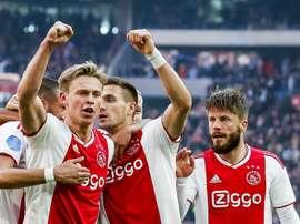 Frenkie de Jong é uma das estrelas do Ajax. Goala