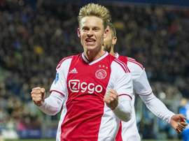 Frenkie de Jong Ajax. Goal