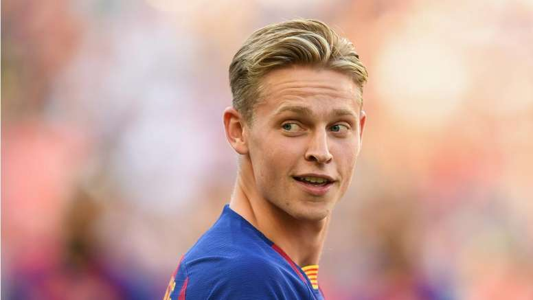 Frenkie de Jong is one of Barca's signings this summer. GOAL