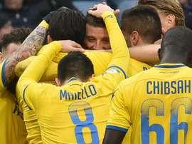 Il Frosinone supera la Sampdoria. Goal