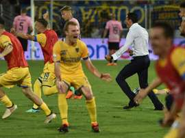 Frosinone were promoted to Serie A. GOAL