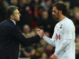 Gabbiadini and Puel - Cropped
