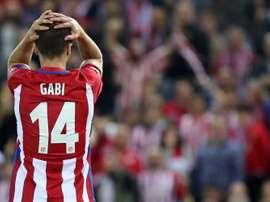 Le capitaine des Colchoneros, Gabi. Goal
