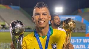 Quem é Gabriel Veron, Bola de Ouro do Mundial sub-17. GOAL