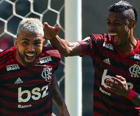 Dupla Gabigol e B. Henrique tem mais gols que 12 times do Brasileirão. GOAL