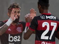 Gabigol e Bruno Henrique participam de mais da metade dos gols do Flamengo em 2020