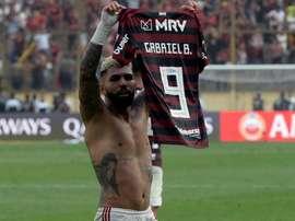 Gabigol publicou vídeo nas redes sociais confirmando sua permanência Flamengo. Goal