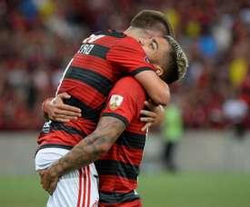 Prováveis onzes de LDU x Flamengo. Goal