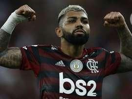 Gabigol provoca torcida do Santos com tatuagem da Libertadores. Goal