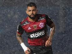 Gabigol pode desfalcar o Flamengo na Libertadores. EFE