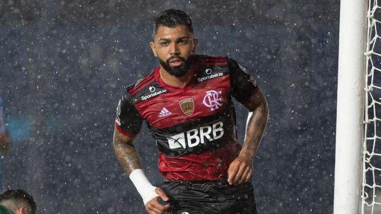 Os gols, vítimas, recordes e títulos de Gabigol no Flamengo. EFE