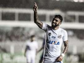 Gabigol em grande no regresso ao Santos. Goal