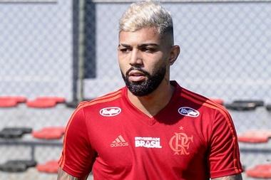Gabigol no trino do Flamengoo. Goal