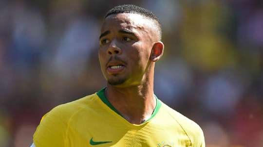 Gabriel Jesus Brazil 2018. Goal