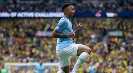Gabriel Jesus scored for City. GOAL