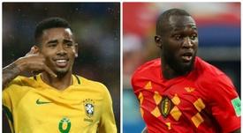 Lukau já tem 4 gols no Mundial, enquanto Jesus ainda não marcou. Goal