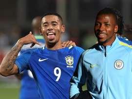 Gabriel Jesus e K. Iheanacho se enfrentaram na Copa do Mundo Sub-20 de 2015, na Nova Zelândia. Goal