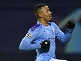 Un triplé de Gabriel Jesus porte Manchester. goal