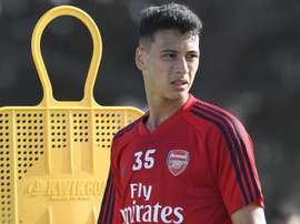 Reforço do Arsenal, Gabriel Martinelli estreia como titular em amistoso