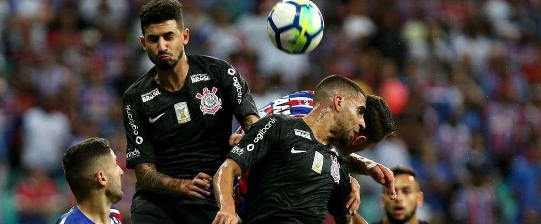Bahia vence Timão com gol no fim. Goal