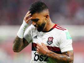 Gabriel Barbosa not ready to discuss future after Club World Cup loss. AFP