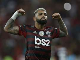 Gabriel Barbosa is looking to impress in Copa Libertadores final. GOAL