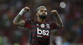 Gabriel Barbosa is looking to impress in Copa Libertadores final. GOAL
