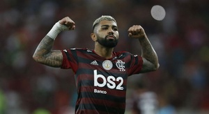 Gabriel Barbosa could return to Europe if he impresses in the Copa Libertadores final. GOAL