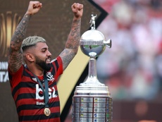 Marotta doubts Inter future for Gabigol despite Flamengo achievements. AFP