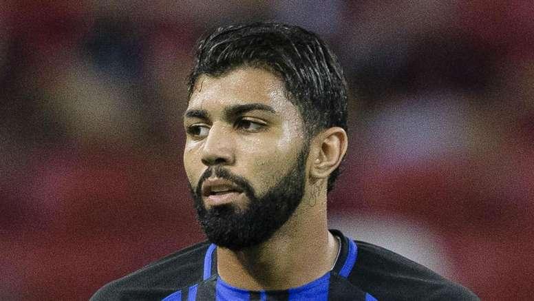 Inter flop Gabriel scored his first hat-trick. GOAL