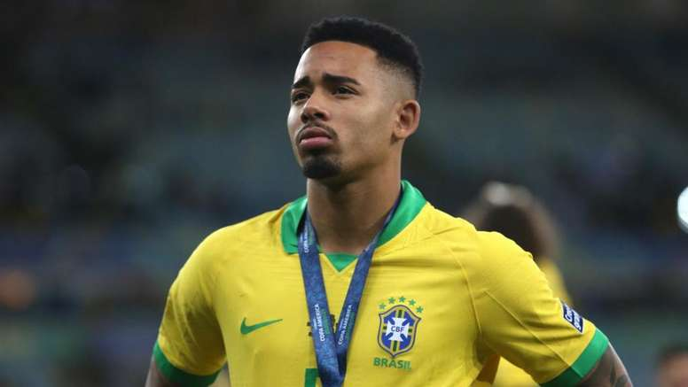 Jesus was sent off as Brazil won the Copa America. GOAL